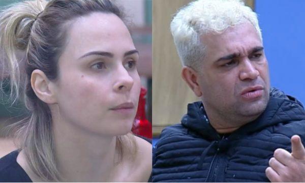 A Fazenda 10: Ana Paula Renault e Evandro Santo brigam após declaração do humorista: 'Completamente uó!'