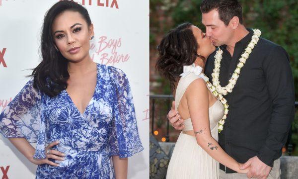 """Janel Parrish, de """"Pretty Little Liars"""", se casa com Chris Long no Havaí; veja fotos"""