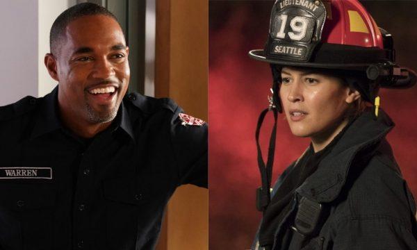 """'Station 19': Jason George e Jaina Lee Ortiz contam tudo sobre o spin-off de 'Grey's Anatomy' e entregam """"política"""" de Shonda Rhimes"""