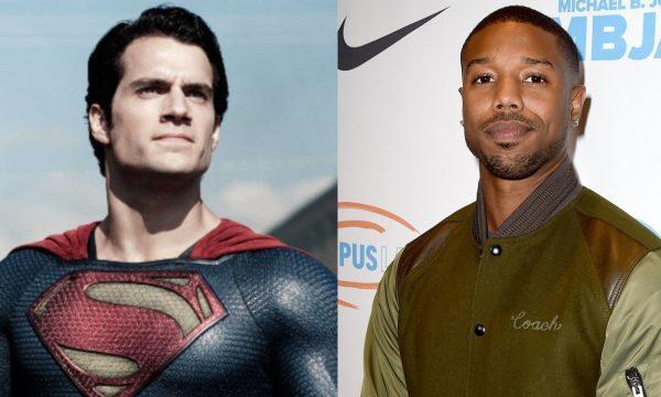 """Superman"": Após suposta saída de Henry Cavill, Warner quer Michael B. Jordan para viver herói, diz site"