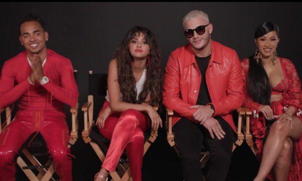 "SAIU! Selena Gomez; Cardi B; DJ Snake e Ozuna se jogam na rumba na ótima ""Taki Taki""; vem ouvir!"