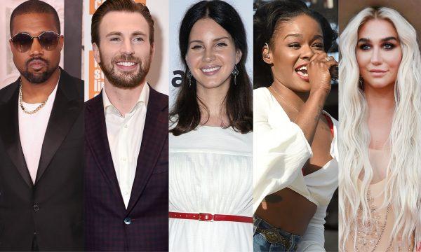 Kanye West gera revolta de Chris Evans e Lana Del Rey com comentário sobre escravidão, e Azealia Banks coloca até Kesha na treta!