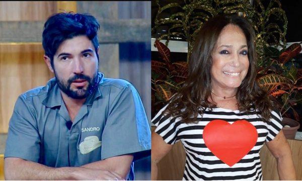 """A Fazenda 10: Sandro Pedroso relembra como conheceu Susana Vieira: """"Foi tipo Jesus Luz e Madonna"""""""