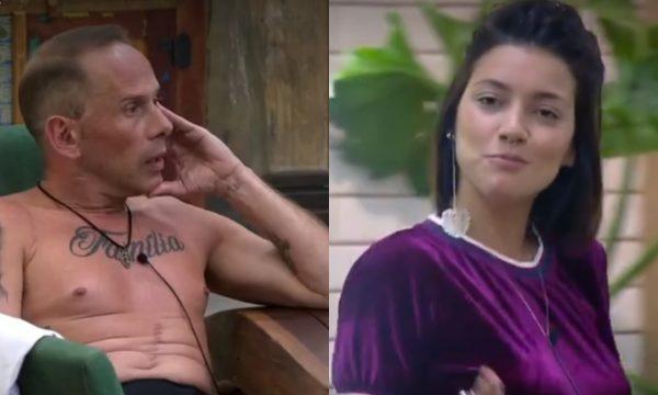 """A Fazenda 10: Rafael Ilha perde a cabeça durante briga e parte para cima de Gabi Prado, que provoca: """"Não se reprima!""""; Assista"""