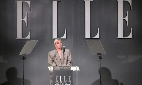 Lady Gaga fez discurso forte e empoderador no ELLE's 25th Annual Women In Hollywood