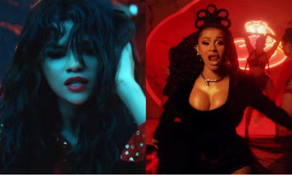 Selena Gomez e Cardi B arrasam no close no clipe de 'Taki Taki' com Ozuna e DJ Snake! Vem ver!