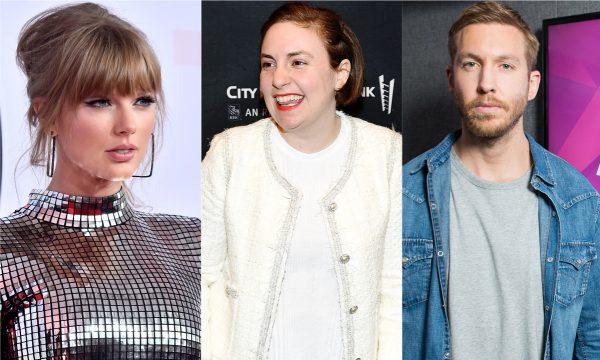 Lena Dunham elege Calvin Harris como o pior namorado de Taylor Swift: 'Mesquinho!'