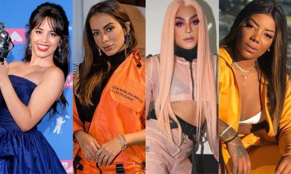 Camila Cabello lidera indicações ao 'EMA 2018'; Anitta, Pabllo Vittar e Ludmilla também são nomeadas!