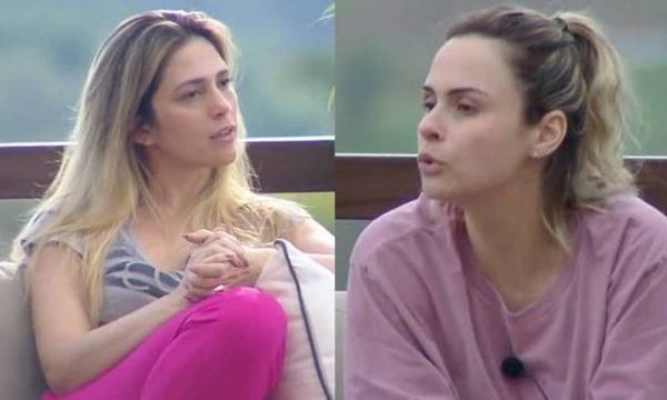 """A Fazenda 10: Vídeo – Ana Paula e Nadja brigam feio: """"Você que se coloque no seu lugar"""""""