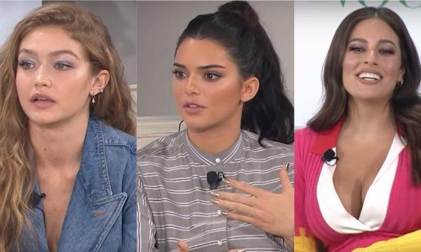 Vídeo: Kendall Jenner, Gigi Hadid e Ashley Graham discutem imagem corporal e movimento #MeToo em evento da Vogue; assista