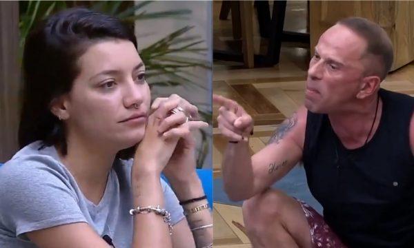 """'A Fazenda 10': Em discussão, Gabi Prado chama Rafael Ilha de """"covarde"""" e ele dispara: """"Débil""""; veja vídeos"""