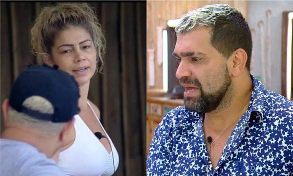 'A Fazenda 10': Record suspende votação da roça após Cátia dar tapa em Evandro; assista