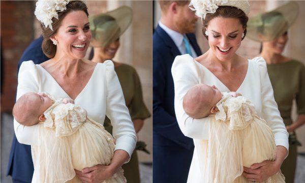 A cara da mãe! Foto inédita de príncipe Louis rende comparações com Kate Middleton, ainda bebê!