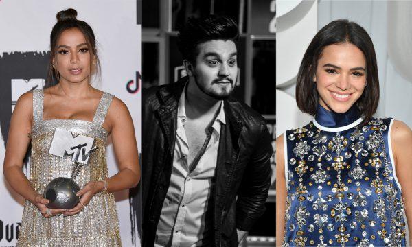 Vídeo: Luan Santana revela já ter ficado com Anitta e Bruna Marquezine: 'Algumas vezes'