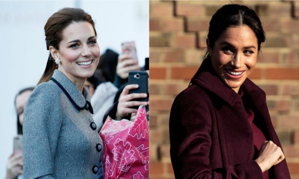 "Vídeo: Kate Middleton fala pela primeira vez sobre gravidez de Meghan Markle: ""Vai ser muito especial"""