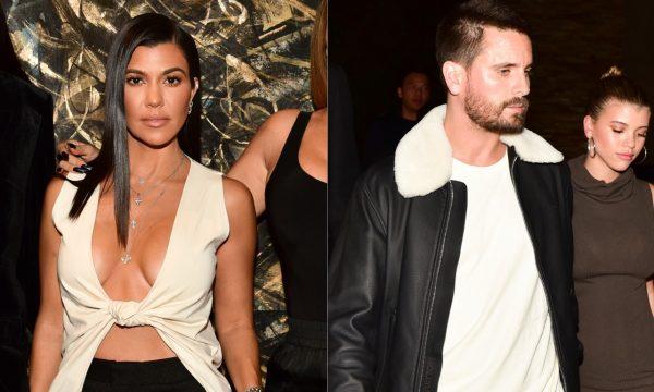 Kourtney Kardashian comparece a mesmo evento que Scott Disick e a namorada dele, Sofia Richie; veja fotos