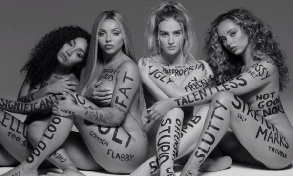 """Little Mix enaltece todos os tipos de corpos femininos no poderoso clipe de """"Strip""""; assista"""