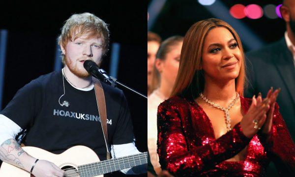 """Ed Sheeran é criticado por seu look 'simples demais' para dueto de """"Perfect"""" com Beyoncé e dá a MELHOR resposta; confira!"""