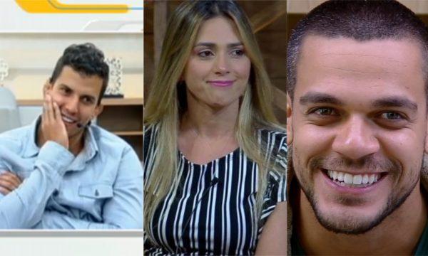 A Fazenda 10: Na TV, Felipe Sertanejo ri de suposta cantada de Nadja Pessoa e detona Caique Aguiar