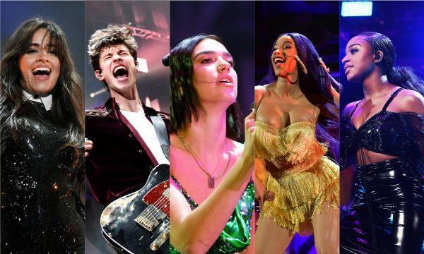 Camila Cabello; Shawn Mendes; Dua Lipa; Cardi B; Normani e mais arrasam em festival de Natal nos EUA; vem ver!