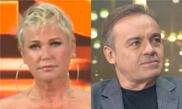 Xuxa ignora Eduardo Costa e ganha 'lua de cristal'; Gugu dá iPhone e recebe mapa personalizado em 'Amigo Secreto' da Record; assista