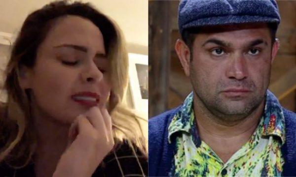 A Fazenda 10: Ana Paula Renault chora após briga e comentários de Evandro Santo sobre o pai dela: 'Carreira política ilibada'