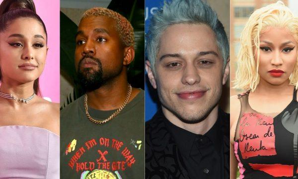 Ariana Grande responde às críticas de Kanye West e Pete Davidson e Nicki Minaj comentam o bapho!