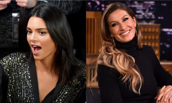 Kendall Jenner é a modelo mais bem paga do mundo pela segunda vez consecutiva; Gisele Bündchen cai algumas posições — Veja lista completa!