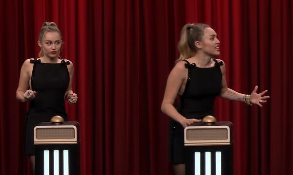 Vídeo: Miley Cyrus quase não reconhece um de seus maiores hits em desafio musical; vem ver!